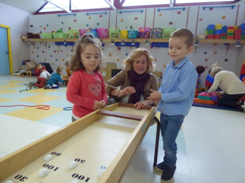 Semaine bleue en maternelle : mardi