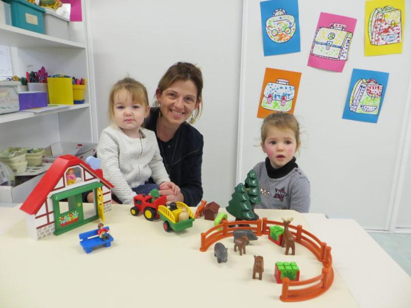 Intégration des petits en maternelle