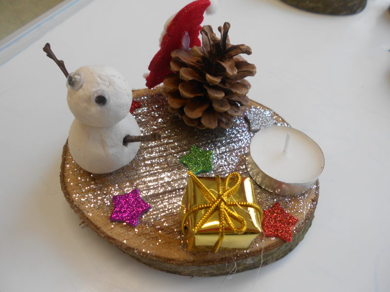 Bricolage de Noël en maternelle