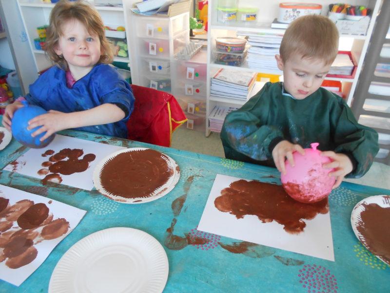 """Journée """"marron """" en maternelle"""