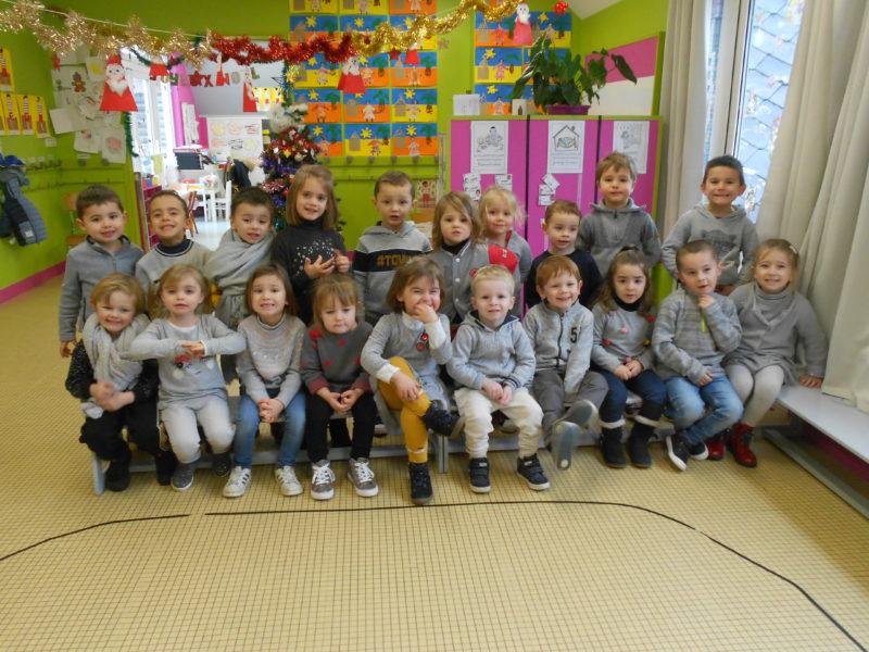 Journée grise en maternelle