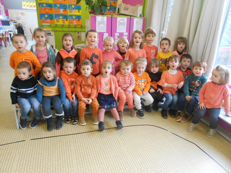 Journée des couleurs orange
