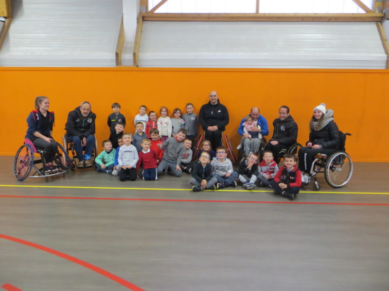 Initiation au handibasket